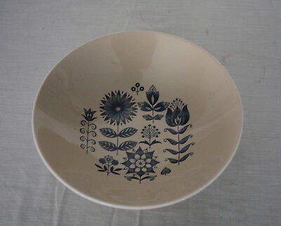"""Schmid Lagardo Tackett 10"""" ABSTRACT FLOWERS Serving Bowl Architectural Pottery"""