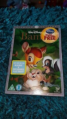 Disney Bambi.dvd.new And Sealed.