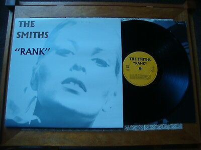 "The SMITHS ""RANK"" Rough Trade 1988 1st PRESS With Inner Near Mint"