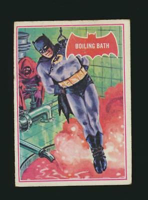 1966 Topps Batman Red Bat puzzle back #12A