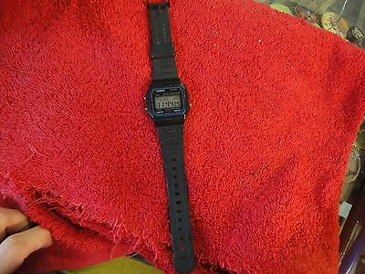 Casio Classic F91W Wrist Watch for Men alarm chronograph stop water resistant