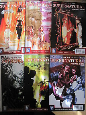Supernatural :rising Son, Complete 6 Issue 2008 Series. Prequel To The Tv Series