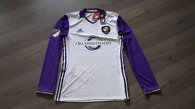 Original ADIDAS-Trikot ORLANDO CITY SC # Größe M # NEU # Official MLS Product