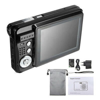 "2.7"" HD 720P 18MP 8x Zoom TFT LCD Digital Camera Video Camcorder DV Anti-Shake O"
