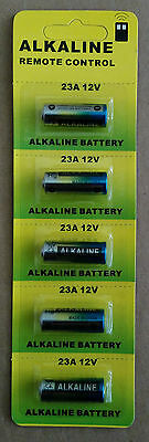 5 pcs 23A  12V alkaline Batteries