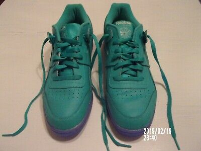 adf9d4b6d4d9a5 REEBOK WORKOUT PLUS Ice (SOLID TEAL WHITE ICE) Men s Shoes CN7181 ...