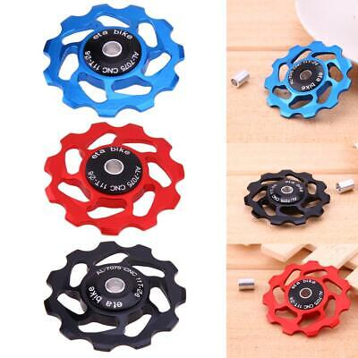 week eight Aluminium Mountain Bike Jockey Wheel Rear Derailleur Pulley 11T Y1W9