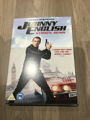 Johnny English Strikes Again Uk Dvd