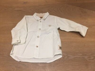 Chemise 6 mois blanche Timberland