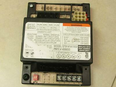 Honeywell ST9141A1002 Furnace Control Circuit Board 406650