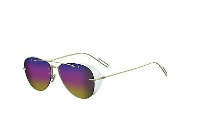 69aafade4a19 NEW CHRISTIAN DIOR Sideral 1S Xv5-0J Black gold Mirror Sunglasses ...