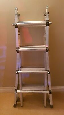 Cosco 14 ft. Aluminum World's Greatest Multi-Position Ladder with 150Kg. Load