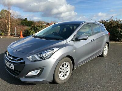 2012 (62) Hyundai I30 Active Blue Drive Crdi Estate No Reserve