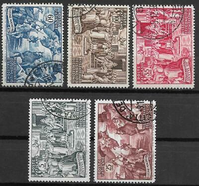 VATICAN 1951 - Chalcedon complete set 5v very fine used / T11826