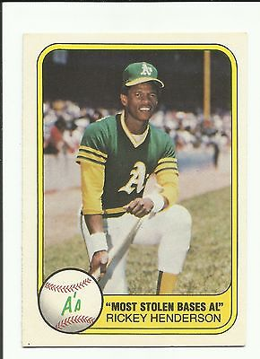1981 Fleer Baseball Lot You Pick Includes Stars