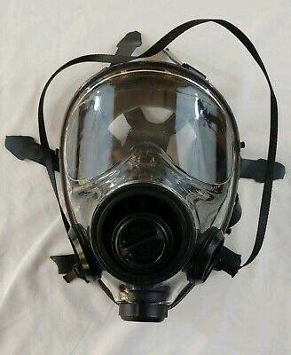 Mestel SGE 400 Military Grade Tactical Full Face Gas Mask 400/3 Good Free Ship