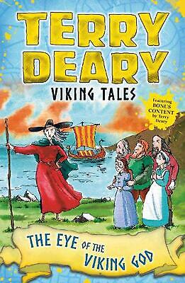 Viking Tales: the Eye of the Viking God by Terry Deary Paperback Book Free Shipp