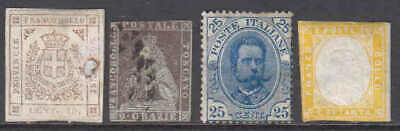 ITALY AND STATES COLLECTION LOT #2 $200 MINIMUM YOU IDENTIFY AND GRADE 99c NO RE