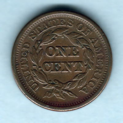 U.S.A.  1846 One Cent.. Small Date..   gVF