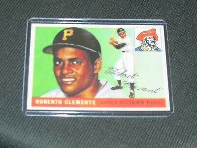 1955 Roberto Clemente Topps Rookie Reprint Baseball Card