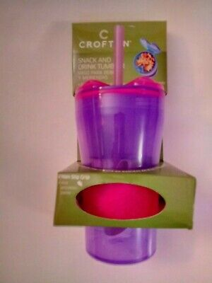 """""""CROFTON""""- Snack & Drink Tumbler/Non Slip Grip/Great for on the Go !"""