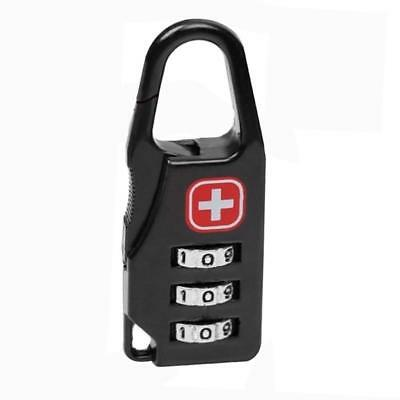 Alloy Safe Combination Code Number Lock Padlock for Luggage Zipper Backpack