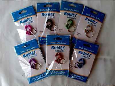 GIFT RUBIT Dog Tag Clip holder-Quick Release easy off ID pet -U Pick Size/Color