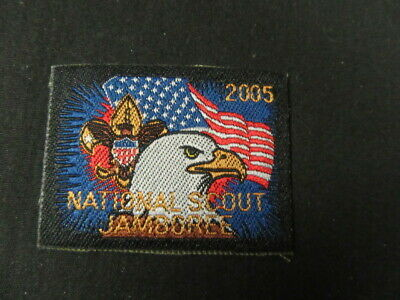 2005 National Jamboree Shorts Patch 1 1/2 by 2       c61