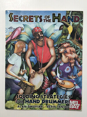 Drumming book SECRETS OF THE HAND Soloing Strategies HAND DRUMMERS Djembe + book