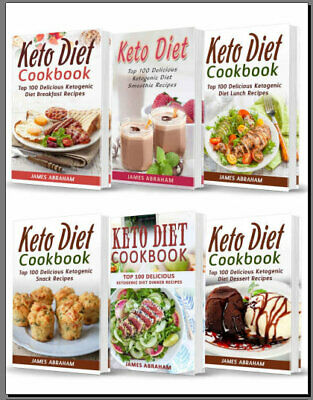 6 In 1 Keto Diet Cookbook - Eb00k/PDF - FAST Delivery