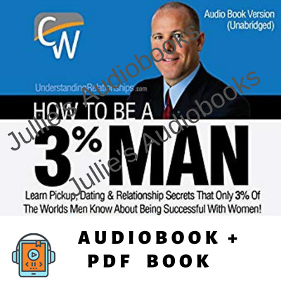 AudioBook How to Be a 3% Man by Corey Wayne - Audiobook + PDF Digital Download