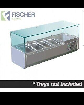 Used Fischer benchtop Cold bain marie