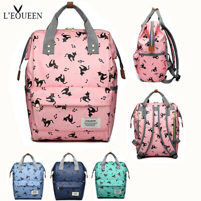 LEQUEEN Diaper Bag Waterproof Nappy Bag Baby Care Travel Backpack Maternity Bag