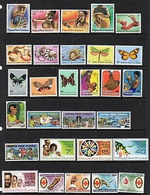 Papua New Guinea - 1979-1982 - mnh collection