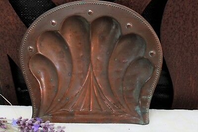 Antique Copper Crumb Tray - H. Loveridge & Co, Art Nouveau, Art Deco, Victorian