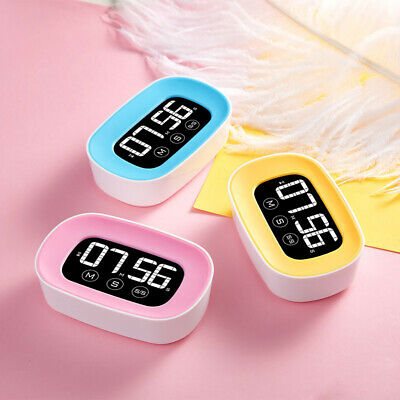 Digital Led Touch Screen Cooking Timer Count-Down Alarm Clock Cooking Tool Faddi