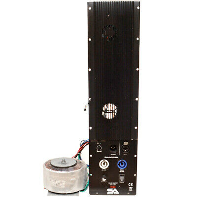 300 Watt Plate Amplifier for Line Array System Cabinets with Satellite In/Out