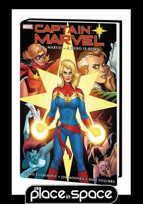 Captain Marvel Ms Marvel A Hero Is Born Omnibus - Hardcover
