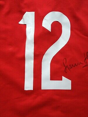 signed wales Gavin Henson 12 rugby shirt