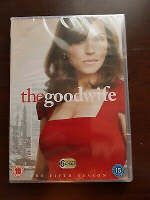 The Good Wife - Season 5 - DVD - Brand New & sealed **FREE POSTAGE ***T1