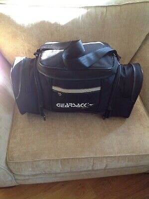 Gearsack Large Motorcycle Rear Carry Bag With 2 Zip On Side Pockets