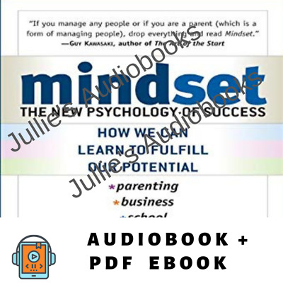 AudioBook - Mindset: The New Psychology of Success by Carol D Weck