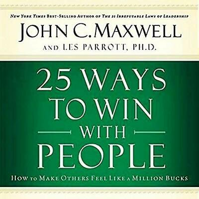 25 Ways to Win with People by John C. Maxwell (Audiobook MP3)