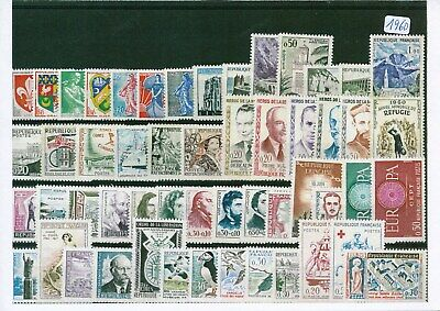 Timbres De France Annee Complete 1960 Neuf Luxe **