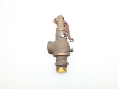 Crane 2551 Bronze Relief Valve 25cfm 5psi 1in Npt