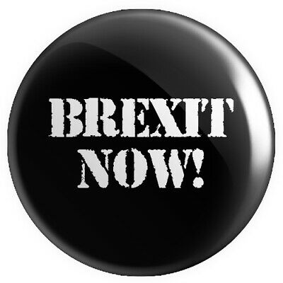 Brexit Now! BUTTON PIN BADGE 25mm 1 INCH UK Europe Referendum
