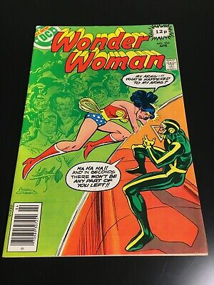 DC Comics Wonder Woman Issue 254 Apr 1979 Realm of the Gods The Angle Man (52)