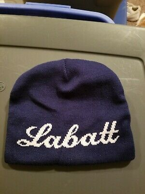 LABATT USA HOCKEY Knit Cap Beanie Tuque Winter Hat Navy Blue -  9.00 ... e8bb933512bd