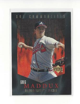 1997 Upper Deck Hot Commodities #HC19 Greg Maddux Braves
