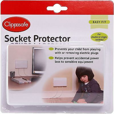 Clippasafe SOCKET PROTECTOR Baby Child Safety BN